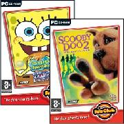 Pc - Scooby Doo: Monsters Unleased + Spongebob Square Pants: Operation Krabby Patty