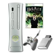 Xbox 360 - Xbox 360 Core Plus Harry Potter, Wired Controller and Memory Card