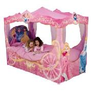 Disney Princess Carriage Bed with Sheer Fabric (frame sold